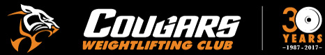 Cougars Weightlifting Club Brisbane Logo